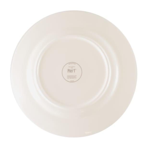 Pier 1 Bradford Plaid Dinner Plate Set of 4