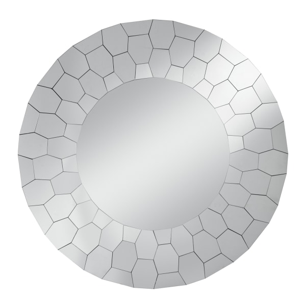 Adelyn Round Glam Accent Wall Mirror
