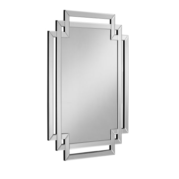 Callie Sparkly Beveled Accent Wall Mirror