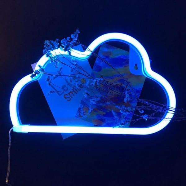 Cloud Shaped Neon Wall Light