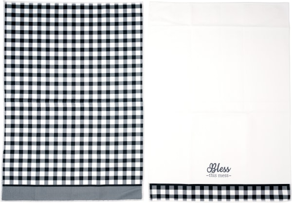 Bless the Mess Set of 2 Tea Towels