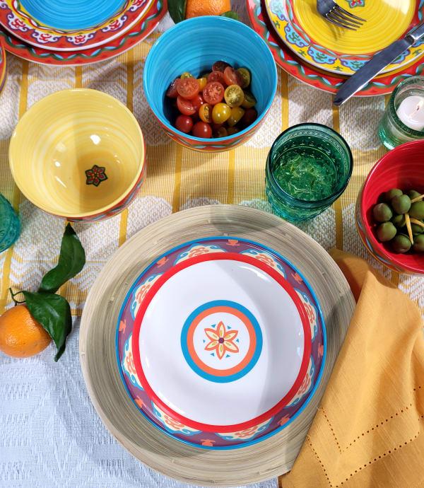 Galicia Set of 4 Pasta Bowls