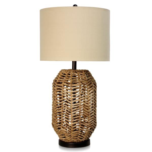 Aasha Water Hyacinth Table Lamp