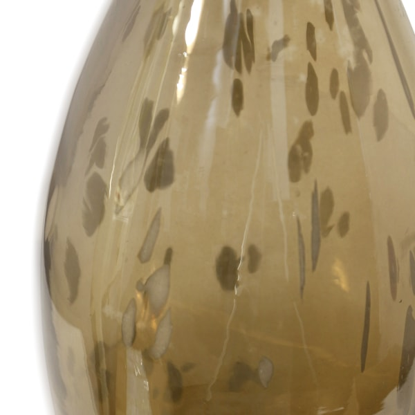 Florintini Amber Hand Made Medium Art Glass Vase