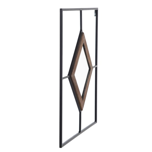 Jasper Diamond Tile Wall Mirror