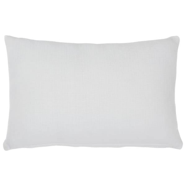 Forever Embroidered White Set of 4 Accent Pillows