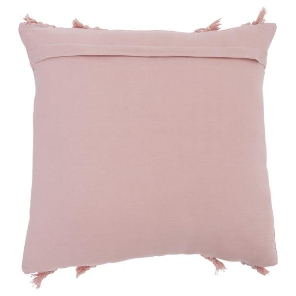 Pink Tassel Set of 4  Accent Pillows