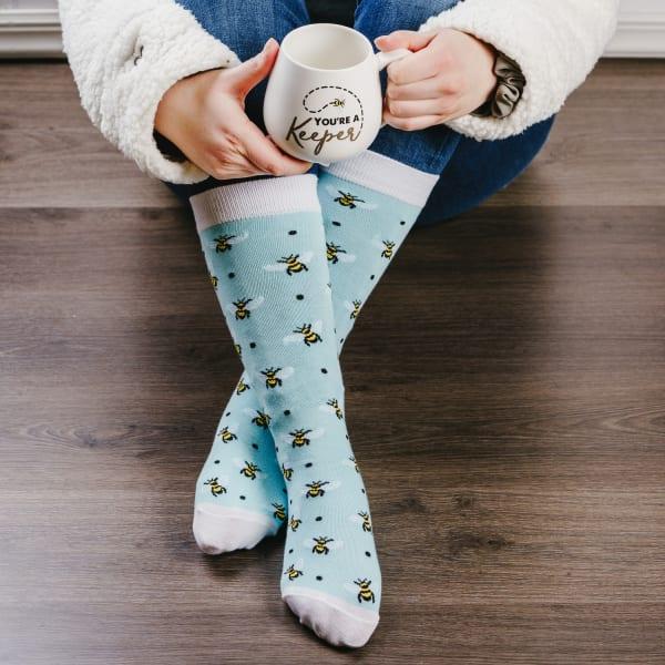 Keeper - Mug and Sock Set