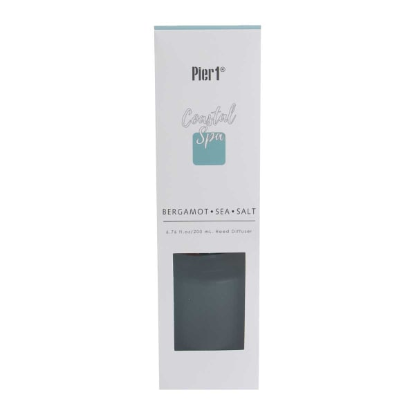 Pier 1 Bergamot Sea Salt Reed Diffuser 8oz