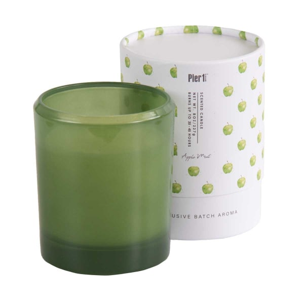 Pier 1 Apple Mint Boxed Soy Candle 8oz