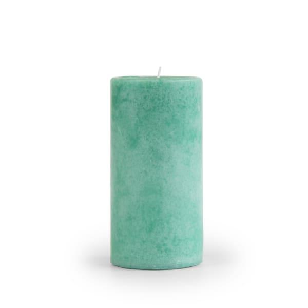 Pier 1 Sea Grass 3x6 Mottled Pillar Candle