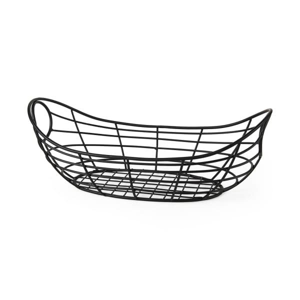 Mateo Black Metal Basket