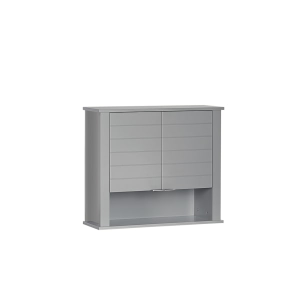 Madison Gray Two Door Wall Cabinet