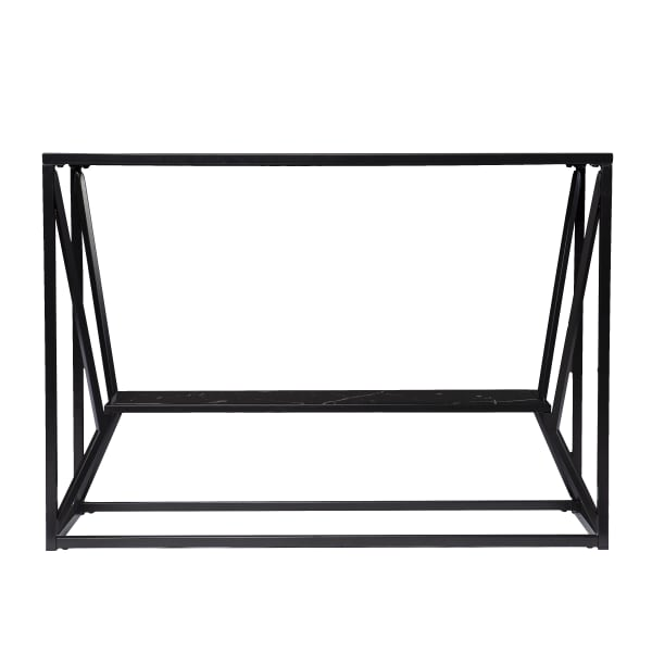 Lewes Glass-Top Console Table