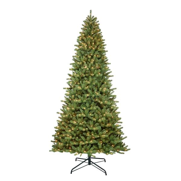 Josephine Pre-Lit 12' 1200 Lights Green Berkshire Fir Artificial Christmas Tree
