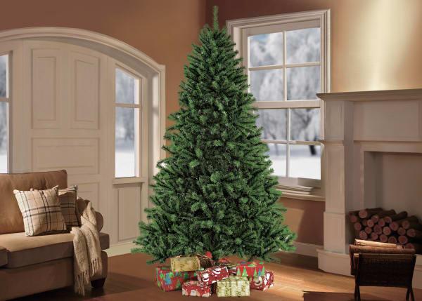 6.5' Green Northern Fir Artificial Christmas Tree