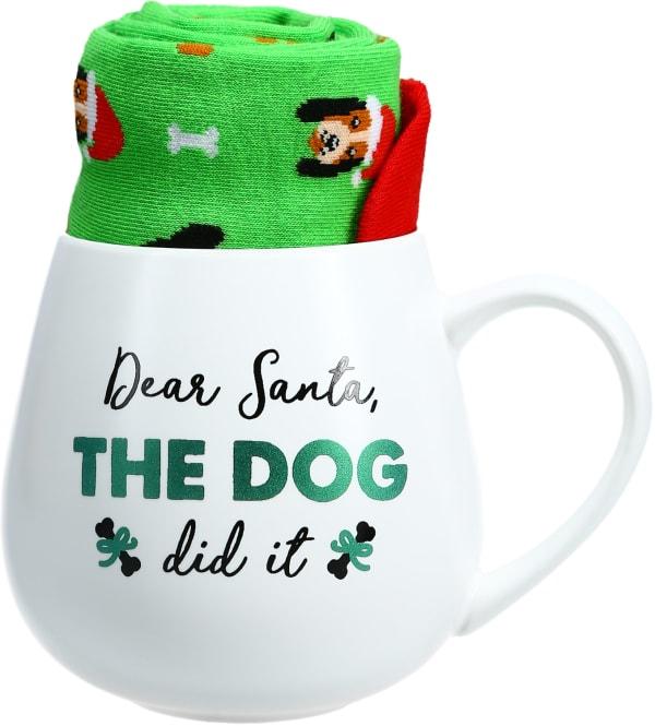 Dear Santa - Mug and Sock Set