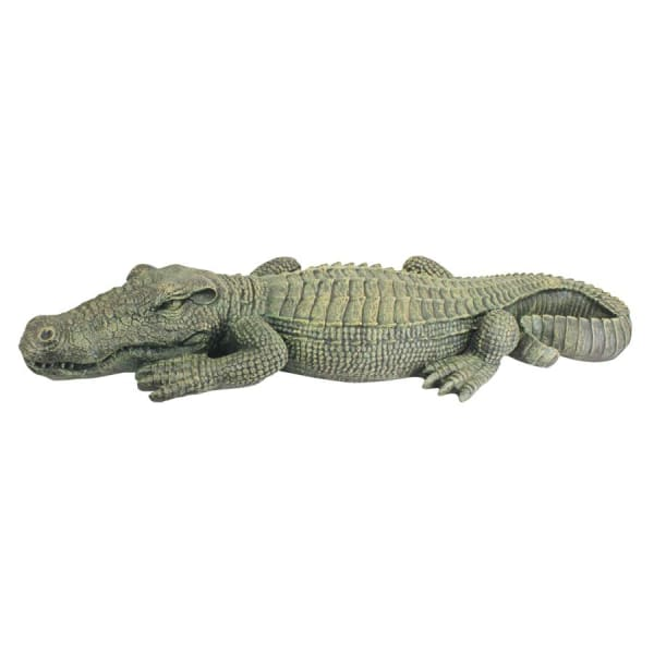 The Swamp Beast Crocodile Garden Statue