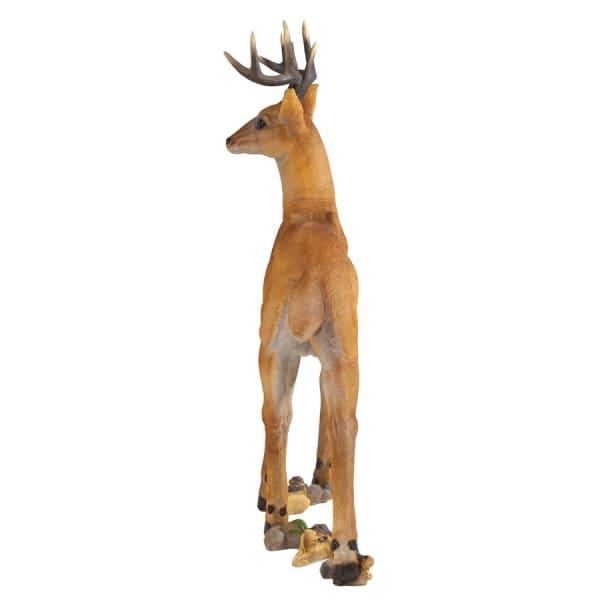 Woodland Buck Deer Statue