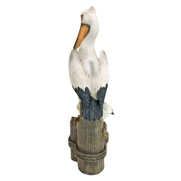 Ocean's Perch Pelican Statue