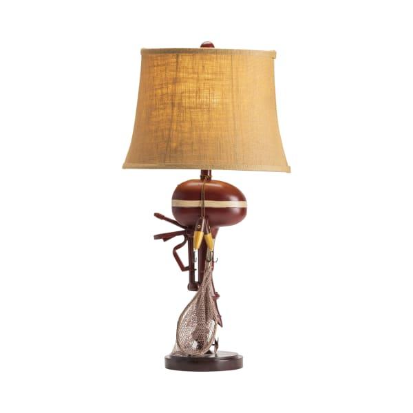 Hugo Motor Boating Resin Table Lamp