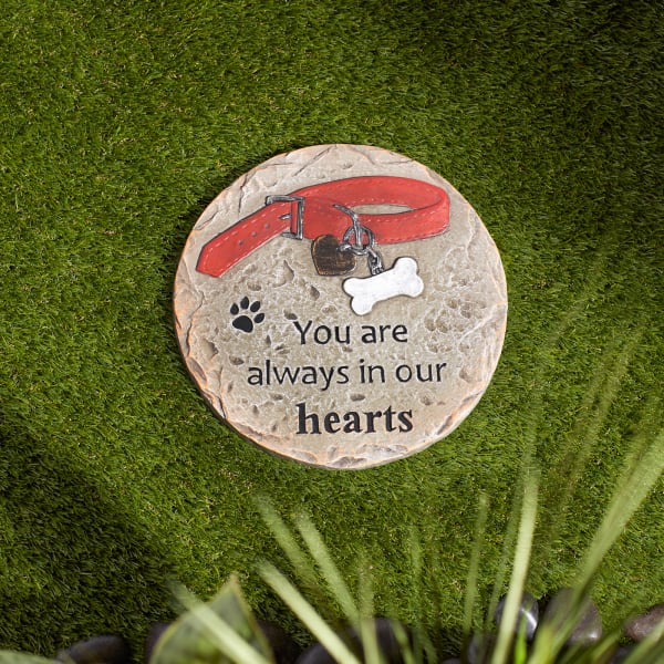 You Are Always In Our Hearts Pet Memorial Stepping Stone