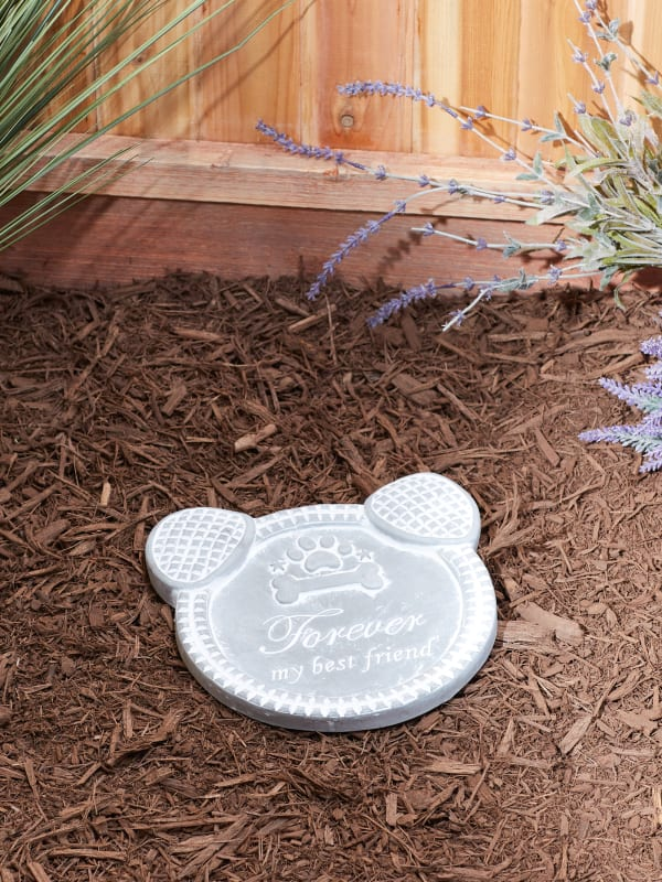 Forever My Best Friend Dog Memorial Stepping Stone