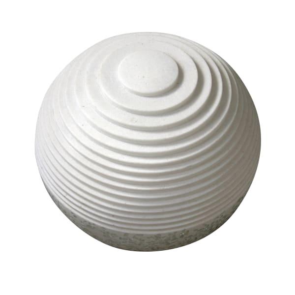 Step Carved Lines Polished Sphere