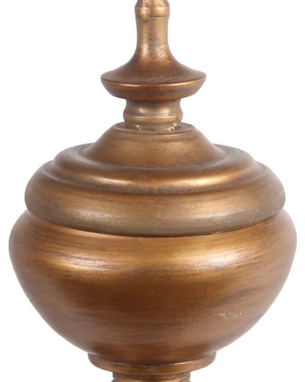 Decorative Traditional Metal Medium Finial