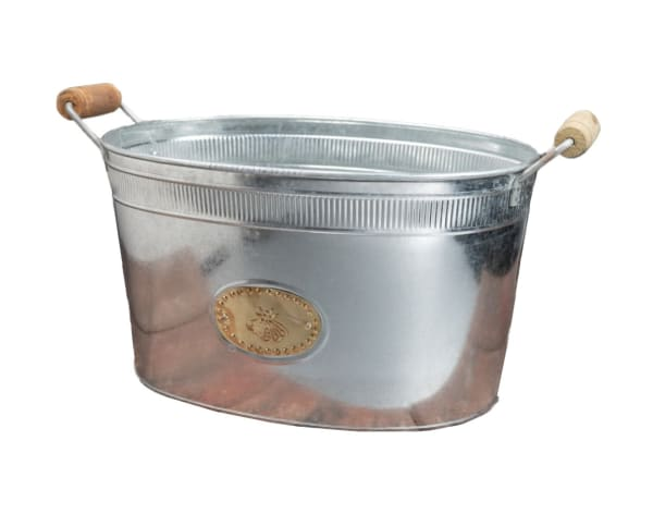 Bumble Bee Oval Stainless Steel Galvanized Beverage Tub