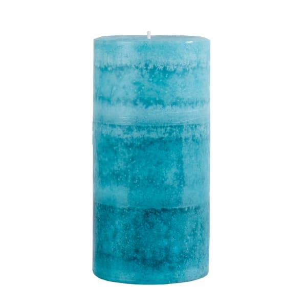 Pier 1 Oceans 3x6 Layered Pillar Candle