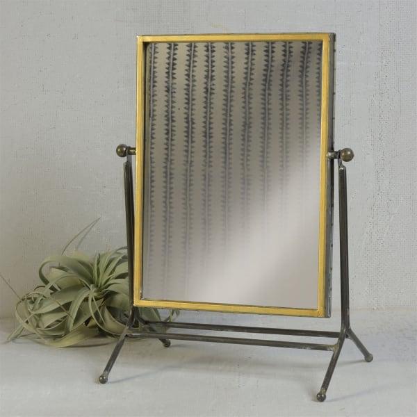Rustic Rectangular Floor Mirror