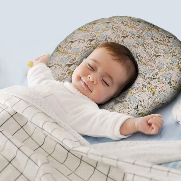 Animal Print Multicolor Baby Nursing Pillow