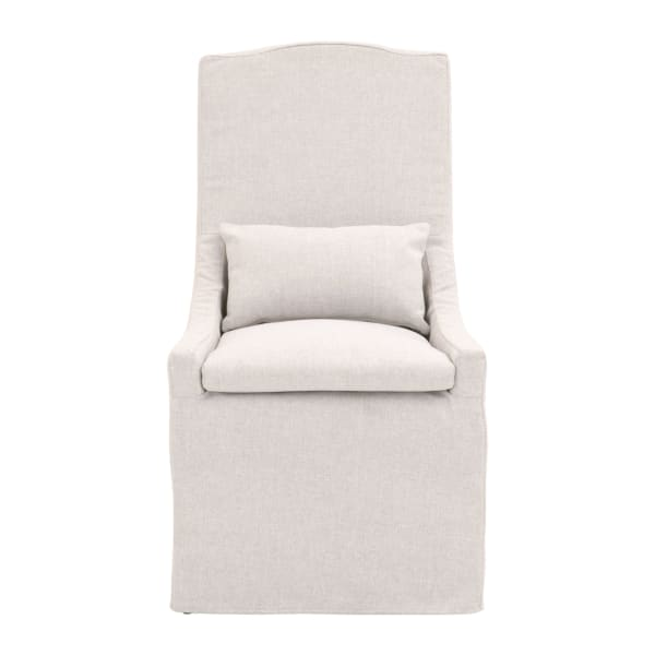Gray Fabric Upholstered Accent Chair