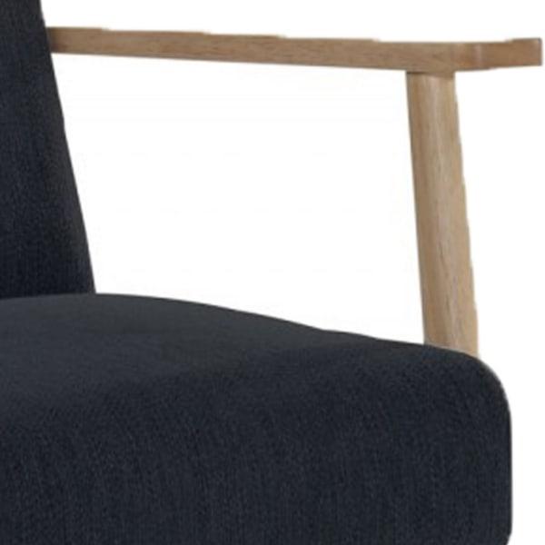 Modern Wooden Frame Accent Chair