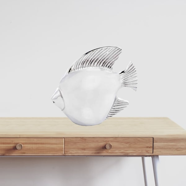 Buffed Fish Sculpture