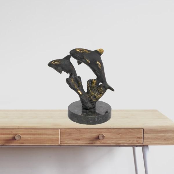 Jumping Dolphin Sculpture