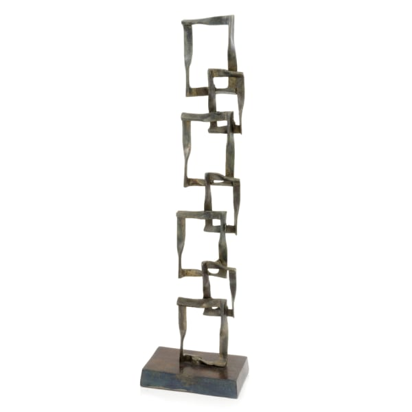 Patina Cuadrado Tall Squares Sculpture