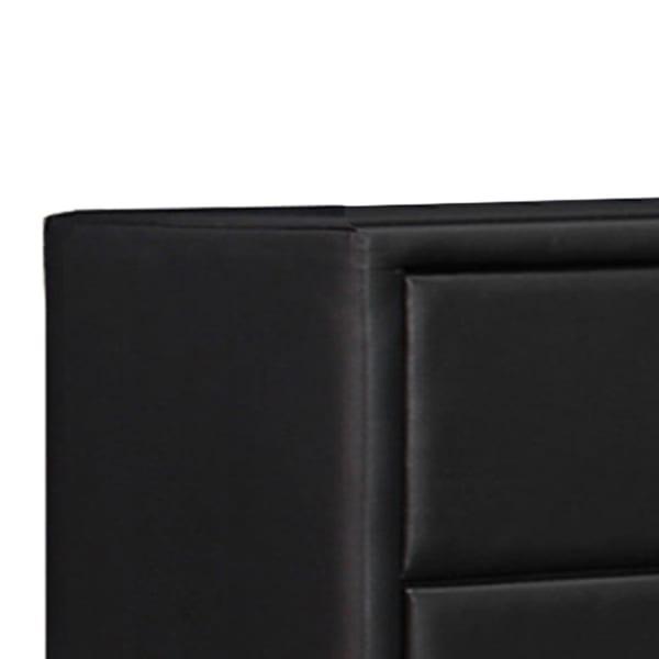 Black 5 Drawer Chest