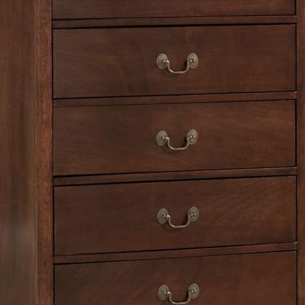 5 Drawer Wooden Chest