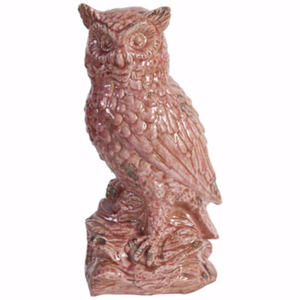 Distressed Finish Owl Figurine