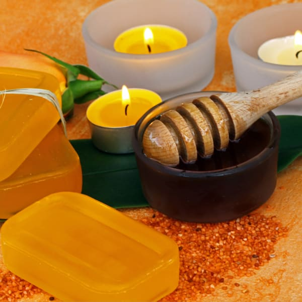 Extended Burn Citronella Set of 100 Tea Light Candles