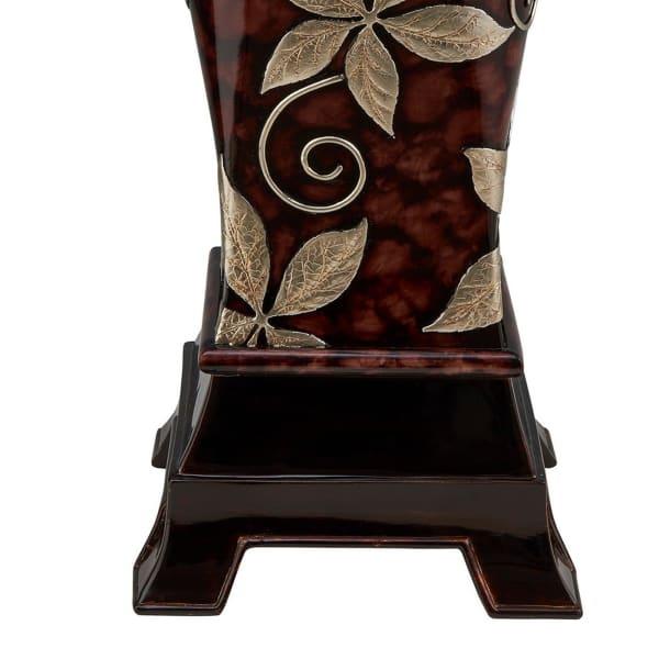 Urn Shape Foliage Decor Vase