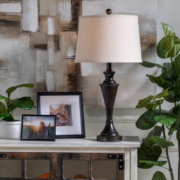 AydinBronze Metal Table Lamp