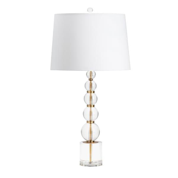Ledger Crystal Table Lamp