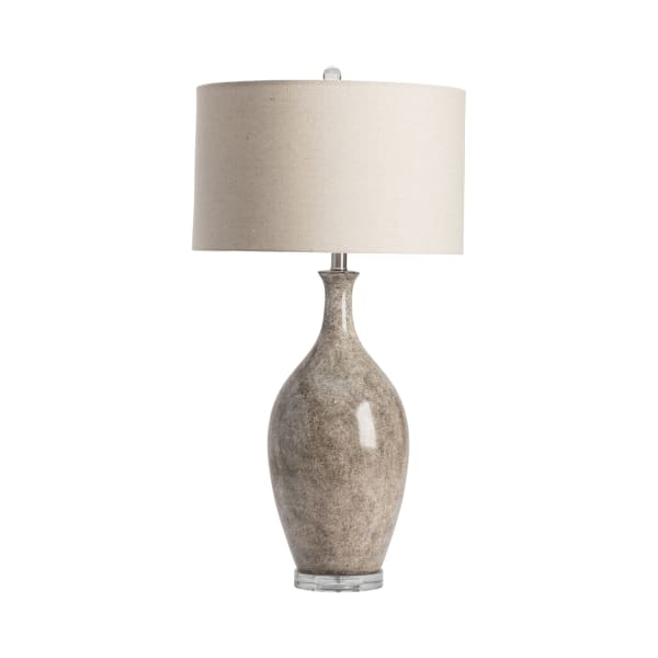 Danyon Vase with Crystal Accent Table Lamp