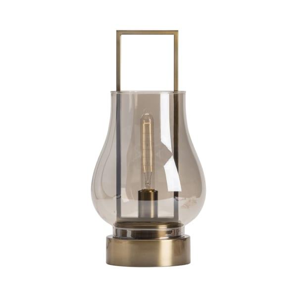 Bronwin Antique Brass Uplight Accent Lamp