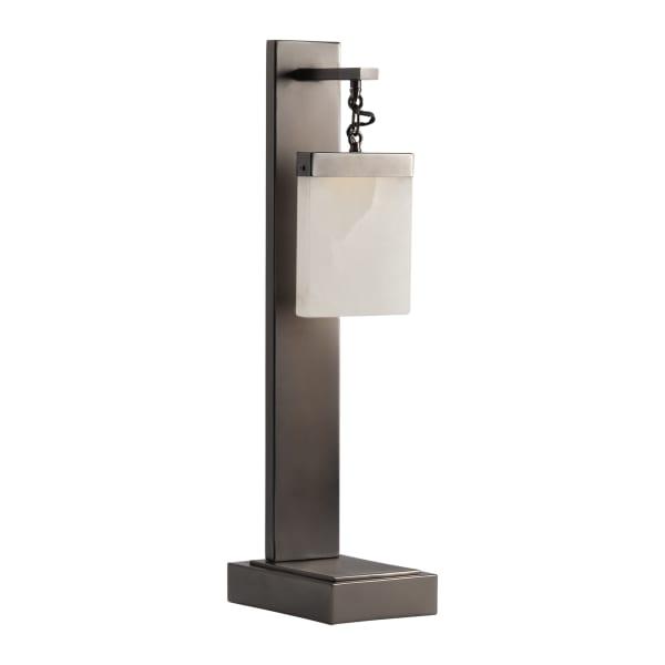 Safiya USB with LED Light Table Lamp
