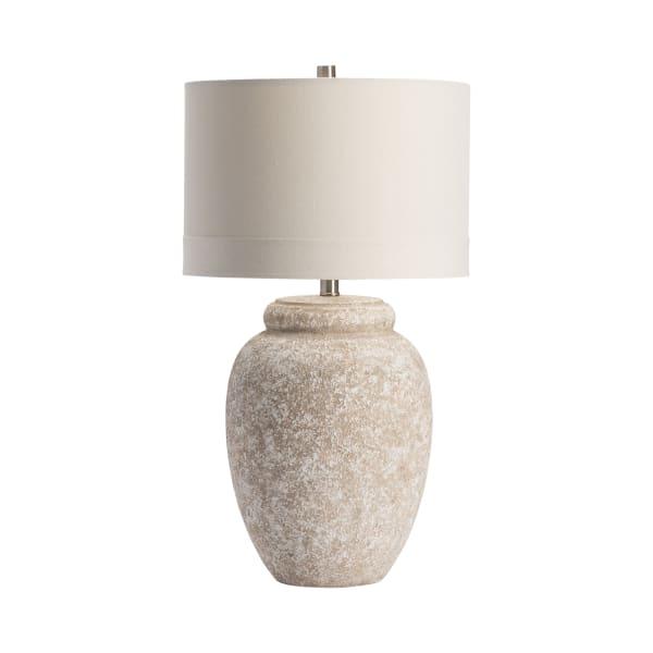 Mikel Textured Ceramic Table Lamp