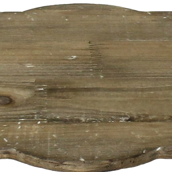 Wood and Metal Decorative Tray
